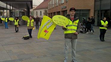 Aktion der ver.di Jugend Regensburg